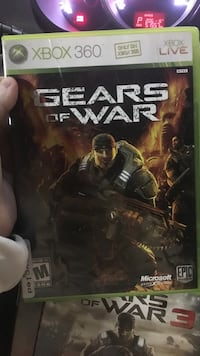 Gears of War Xbox 360 game case Calgary, T2Z 4J2