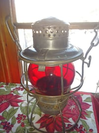 Antique CNR lamp. Edmonton