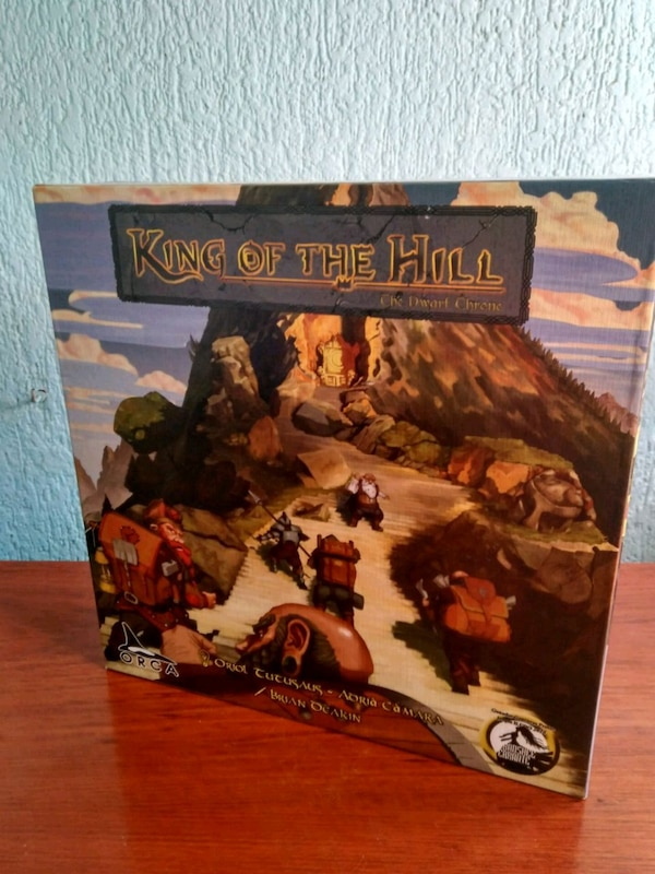 Juego de mesa King of the Hill: The Dwarf Throne