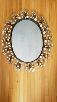 metallic and glass frame mirror Potomac, 20854