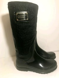 STELLAR Marc Jacobs (Size 8), Rubber, Fabric and Leather Boots Vancouver, V6J 1S4