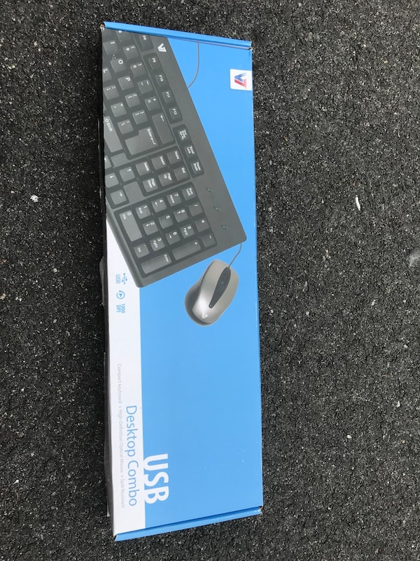 New keyboard with mouse