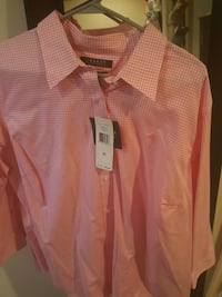 men's pink button up dress shirt Glen Burnie, 21060