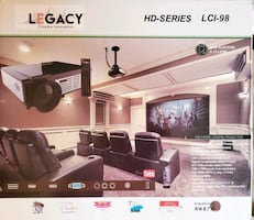 Legacy Cinema Innovation LCl-98 1080P HD Home Theater Projector