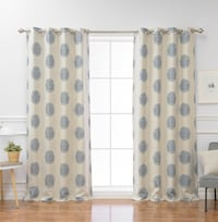 Blackout thermal double panels curtain Toronto, M4M 1G3