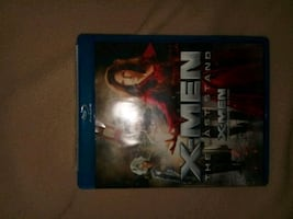 2 disc Blu-ray X-Men The Last Stand