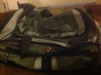 Nice xlg canvas duffle bag w/lots of pockets and collapsible handle Medford, 97501