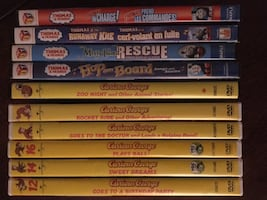 Thomas & Curious George DVDs