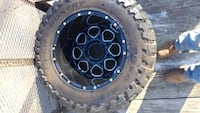 """4- tires and rims 38""""x 15.5""""x20""""r Randleman, 27317"""