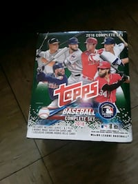 2018 topps baseball cards complete set 700 cards