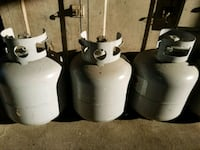 Empty 20 pound LP gas bottles 20 bucks each Toledo, 43609