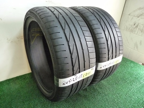 Bridgestone Potenza Re050A >> 245 35 18 Bridgestone Potenza Re050a Run Flat 2 Used Tires 50 Life