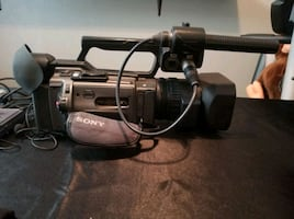 Sony Camera, Tripods and LED Lighting