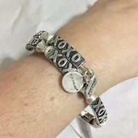 NWT Alex and Ani wrap xo expandable bracelet Boston