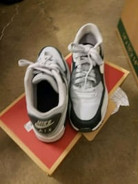 pair of white-and-black Nike running shoes Stockton, 95210