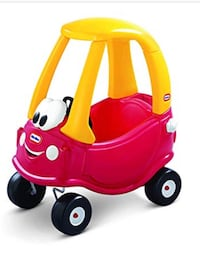 red and yellow Little Tikes cozy coupe Washington, 20024
