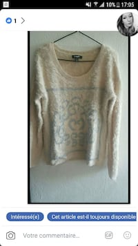 Pull doux taille M