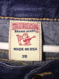 True religion women's jeans size 28 Fort Myers, 33916
