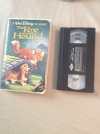 A walt disney classic the fox and the hound vhs tape 276 mi