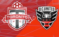 TFC Vs DC UNITED - PLAYOFF TICKETS - 4 ROWS FROM FIELD!! Toronto