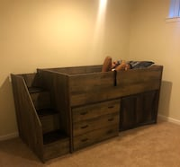 Twin Bed White Plains