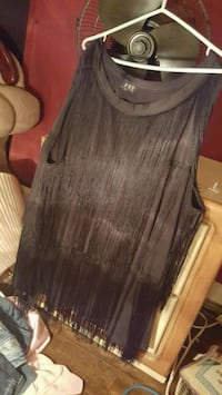 Black Dress Shirt 3x with fringes n black n white  Edmonton, T6E 3K5