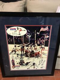 1980 Miracle on Ice Autographed Picture Revere, 02151