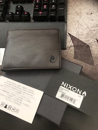 BRAND NEW NIXON ESCAPE BIFOLD BROWN LEATHER WALLET
