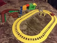 The learning journey train set