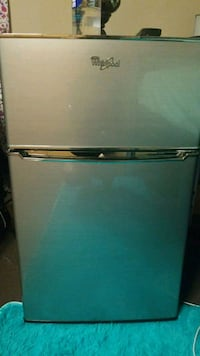 gray Arcelik top mount refrigerator West Hartford, 06117