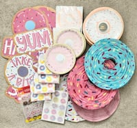 Donut theme party supplies Mississauga, L5M 0H2
