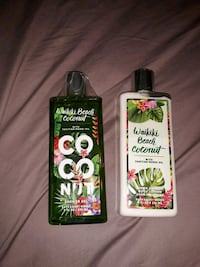 New bath and bodyworks coconut shower gel and loti Scottsdale, 85257