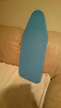 blue clothes ironing board