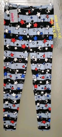 white, blue, and red stars leggings Knoxville, 37931
