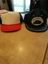 Retro hats 15  for both or 10 for the benz Boise