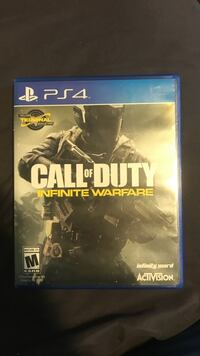 Call of duty infinite warfare ps4 game case Halifax, B2Z 1T8