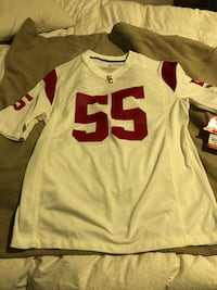 USC Football Jersey #55 Size Large Junior Seau Brand New With Tags Cerritos, 90715
