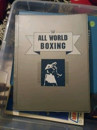 Boxing cards Inwood, 25428