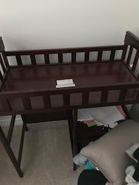 Baby's brown wooden change table unused Whitby, L1R 0M8