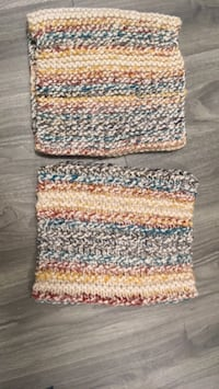 Hand knitted multicolour cowl. Wool, perfect for winter  Waterloo
