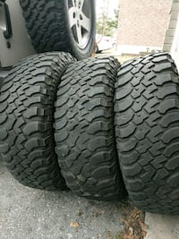Jeep off road tires x 3. $50 each Pickering, L1Z