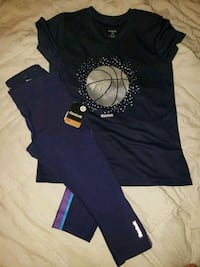 Youth girls Reebok outfit 8-12 Myrtle Beach, 29577