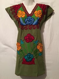 Mexican dress made in chiapas