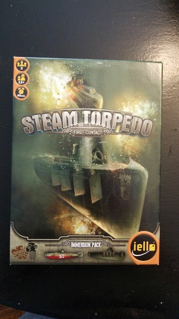 Steam Torpedo board game