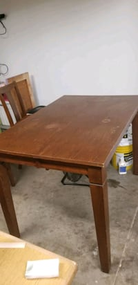 Large table.