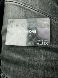 90 dollar square one gift card  Toronto, M9R 1T1