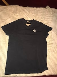 T-shirt Abercrombie&Fitch V-neck Roma, 00186