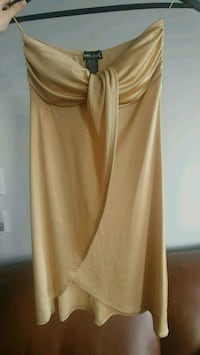 Gold dress - Small - great for New Years Eve Toronto, M9C 0A9