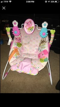 Baby's white and pink printed bouncer Newport News, 23608