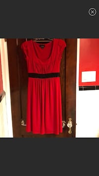 Juniors red and black sleeveless dress size small Wilmington, 19804